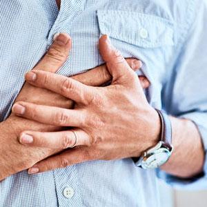 درد قلبی یا آنژین صدری